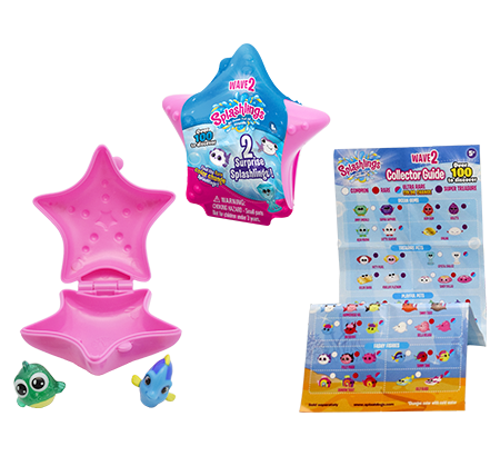 Splashlings® 2-piece Collector's Shell